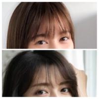 坂道&俳優、女優クイズPart21 画像の現役または元坂道メンバー&女優さんは  上下それぞれ誰と、誰でしょう?