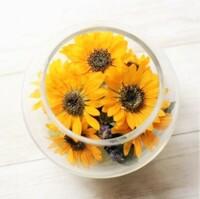 向日葵の花の部分は 食べられないのですか?
