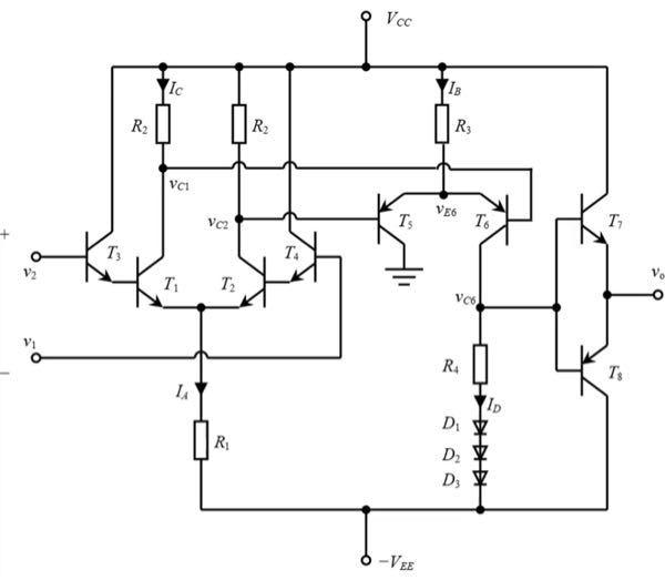 この問題がわからないのでどなたか教えていただきたいです。プッシュプル増幅器は簡易的な構成のため出力波形に歪みが生じる。以下の2問について説明せよ。 (1)なぜ出力波形が歪むのか。 (2)この回路...