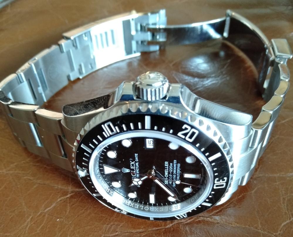 初めて投稿します。 今日の貴方の時計は何ですか?