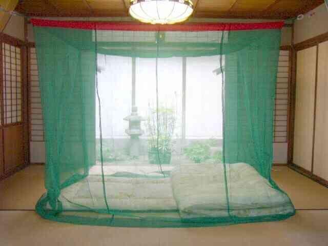 今でも「蚊帳」を使っていますか?