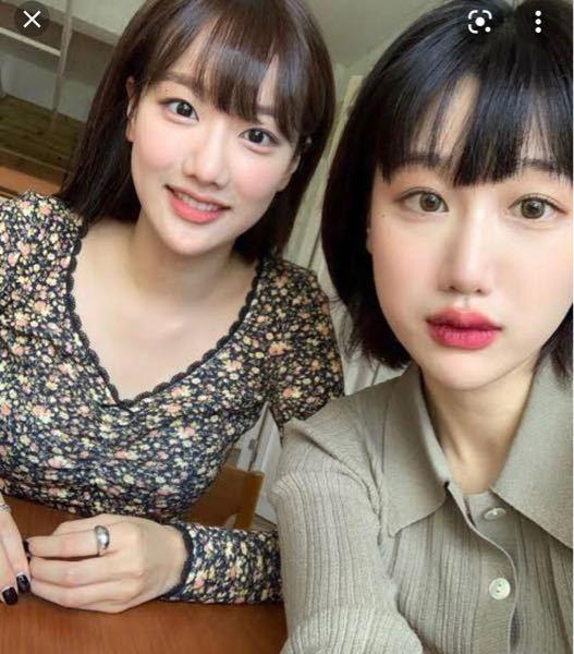 この韓国人のインスタの名前を教えて下さい┏● ナウンちゃんとの隣の女性です