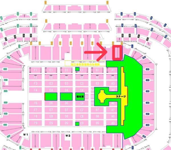 ・アニサマ2021の座席について 今年200レベル230扉付近の席を確保する事が出来たのですが実際のところ見やすい席でしょうか?