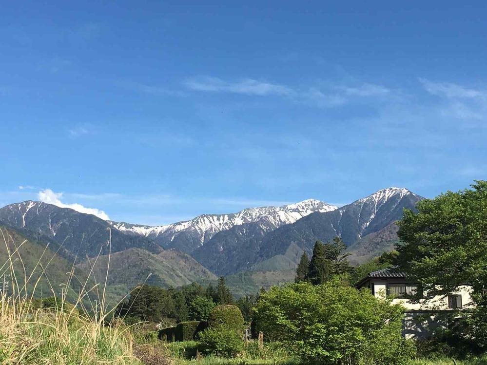 この山の名前を教えてください。 長野県南木曽の人から送られてきました。