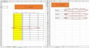 VBAについて、下記マクロで「コピー元」にある各シートの表の一番下の数字を「コピー先」に「コピー元」の同じシート名のセルに表の数字がある 一番下の範囲を貼り付けたいのですが、下記マクロでは特定のセルになっています。 参考図の範囲は(D:F)ですが、希望範囲は表のD列一番下から右方向の数字があるところまでです。アドバイスをお願いします。  Sub TEST() Dim rngs As Rang...