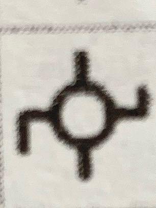 [至急!]この記号分かる方いませんか 地図記号なんですけど…わかんないです 分かる方教えて下さい! ♂️