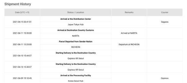 qoo10で注文した物が佐川に渡ったまま動きません!佐川の追跡は未だに該当なしのままです。(毎日見ていますが反映されません) 追跡番号間違ってないかストアに問い合わせしましたが未だ連絡なしで困っています.. この場合ちゃんと佐川に渡っていますでしょうか?荷物が日本に着いてからこんなに日にちかかりますか?
