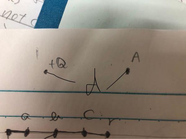 Aでの無限点からの電位は分かりますが、 +Q地点での電位は何になるのでしょうか。 公式に当てはめると無限になりますが、本当に無限なのでしょうか。