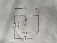 V2/V1の理論式を求めよ。 OSCとはなんですか 理論式がわかりません。