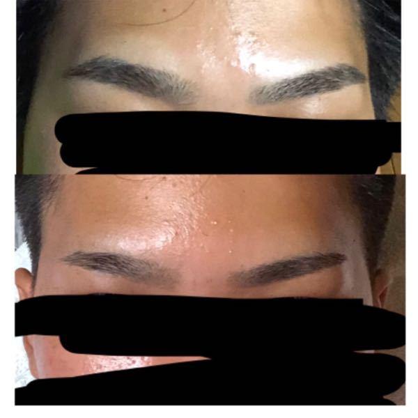 先程、理容師さんに眉毛も手入れして貰ったのですが、元の形を変えられてしまいました。 これっておかしいと思いますか? 上が自分で手入れしていた眉です。 あんまり元の形をいじらないように意識してました。 回答いただいた方に、横顔バージョンも画像送るので、判断していただきたいです。