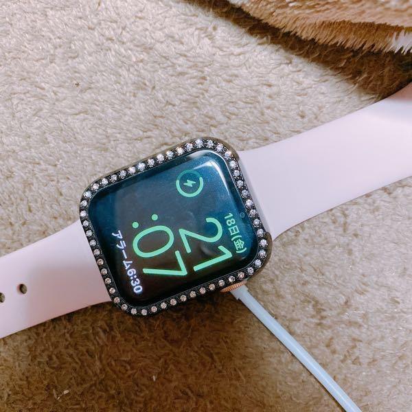 Apple Watch6を買いましたが この画面の背景を変えたいです。 どうしたら変えられますか?? 待ち受け等は変更済みですがここだけ変わりません。