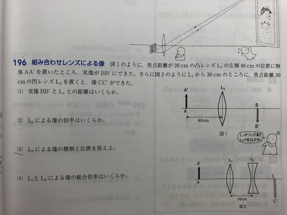 物理の問題です。196の(3)教えてください。