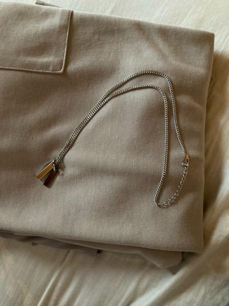 このネックレスをつけてる男子大学生はダサいですか?