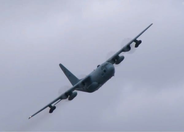 航空祭のアナウンスでC-130Hと紹介されていましたがこれってKC-130Hですよね