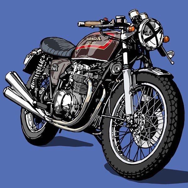 このイラストのバイクはなんというバイクですか?