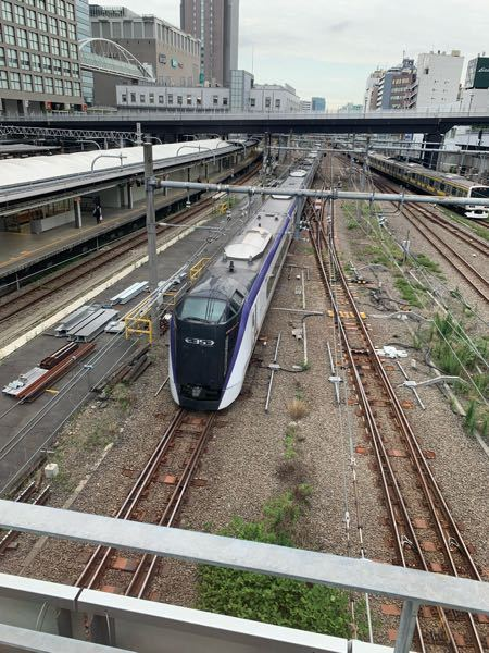 新宿で見かけたこの電車はなんですか? 詳しく教えてください。