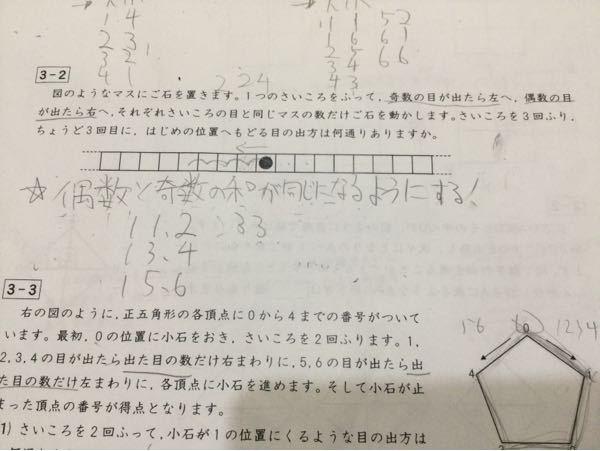 この問題について 答えは1.1.2.と1.3.4と 1.5.6と3.3.6なんですけど、2.2.4とか3.2.5とかは何故ダメなのですか?