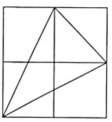 公務員 判断推理の問題です 下図の中にある三角形は、□個ある。 □の答えとできれば解説をお願いします( ;∀;)