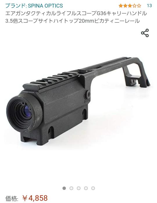 画像の商品を装着する場合、20mmレールがあれば装着できますか?G36系は持っていないのですが、専用アタッチメントだったりしますか?