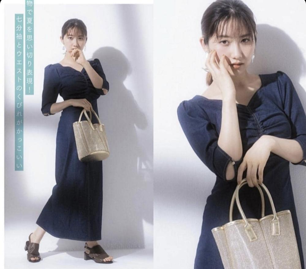 雑誌「エスかわいい」(おそらく4月号)にて、モーニング娘。21の佐藤優樹ちゃんが持っていたこちらのバッグは、どこのブランドのものでしょうか。 添付の写真をみて同じものが欲しくなり雑誌を購入しましたが、違う号に掲載があるらしく、結局ブランド名が分からず終いでしたので、どなたか教えてください!