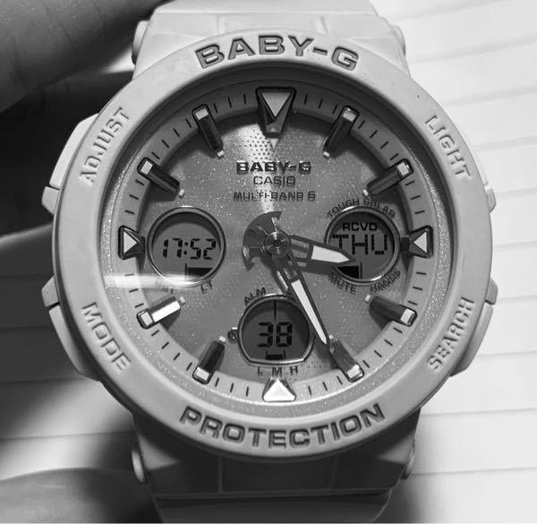 Baby-G 5568 の時計の合わせ方を知りたいです。 いつも通り使っていたのですが、どこかで押してしまったのかアナログ針とデジタル時計の時刻に差が出てしまいました。取り扱い説明書を見てすべて試して見たのですが、まずこのような現象の対応が書いていませんでした(TT) 私自身、文字を読むのが苦手なので見落としているのかも知れません。 直し方教えて頂けると幸いです。