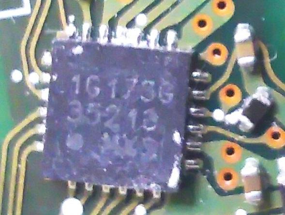 はじめまして、基板の半導体チップについて質問になります。 電気初心者です。 このチップはどこかのサイトに説明や販売などありますでしょうか? 画像添付します。