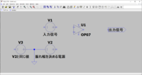 LTspiceで再現しようとすると、 添付画像の様な素子を使って、 1~5Vの電圧信号を任意の振れ幅に変更できるような回路は作れますでしょうか? 例えば、1~5Vを3~15Vに増幅など。 なかなかうまく動作しません。 教えてください。