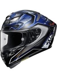 バイクについての質問です。 僕は初バイクでSUZUKI GSX250R(カラーリングは青×黒)に乗ろうと考えています。 バイク用品をggったりしてAmazonで見ながらどれにしようか迷っています。そこで、ヘルメットの色を黒ベースに青の差し色が入ったもの(写真の例)にしようと思ったのですが変でしょうか?僕的には車体のカラーリングともマッチして良いかなぁと思っているんですがベテランライダーさん...