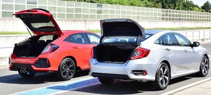 ハッチバックとトランクのスポーツカー。 どっちが使いやすいのですか。 ・・・・・・・・・・・・・・・・・・ 例えば86とかGT‐Rはトランクですが。 例えばフェアレディZとかスープラはハッチバッ...