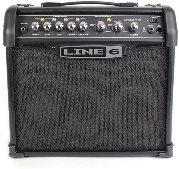 ギターアンプのLINE6 SPIDER2 15って初心者が使う分には十分な性能持ってますかね?