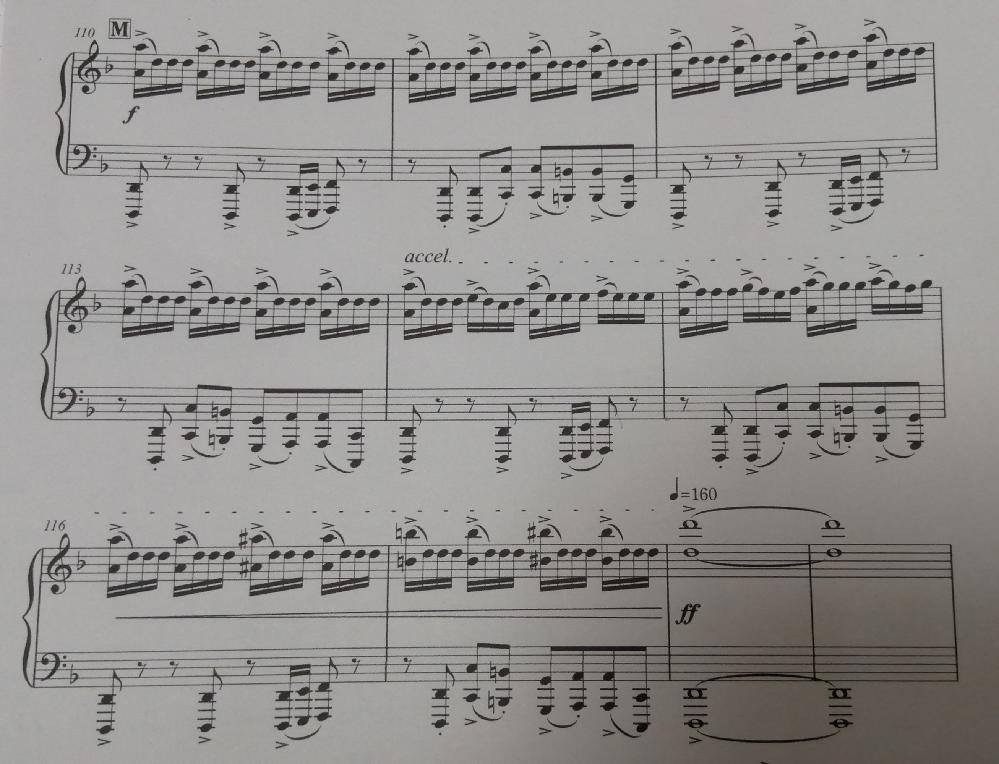 楽譜の指使いを教えて下さい。 ピアノです。右手の指使いを教えて下さい。 回答よろしくお願いします。