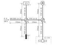 電気工事士2種 NO1のスイッチ部分について このイロハのスイッチ部分で、ネットに沢山ある解説では位置表示灯付きスイッチのイに電源からの非接地線(黒)を接続してロとハに渡り線を出していますが、ハに非接地線(黒)を繋いでからイとロに渡り線を出しても正解ですか?