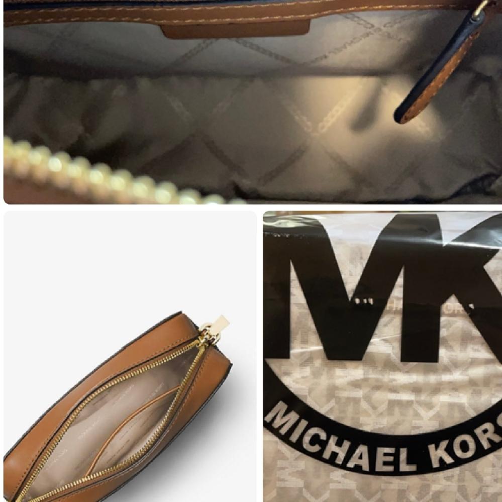 メルカリで、「ミディアムカメラバッグ」を購入しました。 マイケルコースのバックを初めて購入し、偽物か本物かの見分け方も調べたのですが分からなかった為、質問を投稿しました。 価格は、11,500円...
