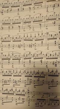 ショウスギウラ先生に質問します。 chopinballade3番久々に練習しましたがかなり忘れてました。 スギウラ先生はこの箇所得意でしょうか?私は苦手です。