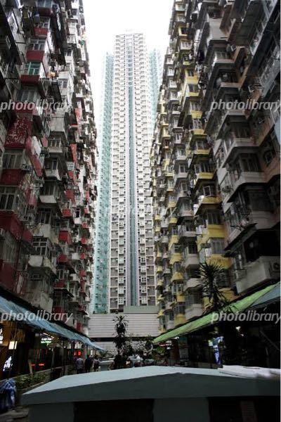 香港にあるでっかいマンションの益昌大廈って大地震来たら崩壊しそうだと思いませんか?