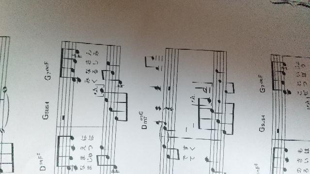 この小さな音符はいつ弾くのでしょうか? 横になってしまいすみません