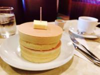 ホットケーキ。 形整いすぎてて逆になんか美味しくなさそう?笑 (美味しいよ!)