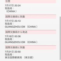 SHEINでお急ぎ便で頼みました! 追跡したところ、21日に東京国際郵便局に到着と書いてありますが、千葉県までどれくらいで届きますか?今週中には届きますかね?