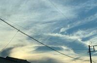 この雲、大丈夫でしょうか? 10年前にも見たことがない様な雲が発生していました。