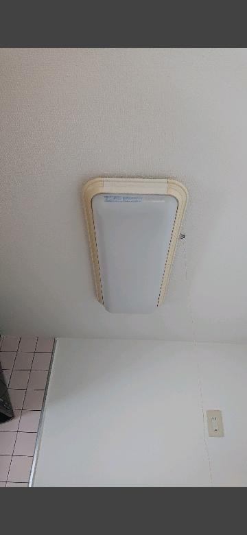 こういう電気は何というのですか?蛍光灯?中に長細い筒が2つあります。 このカバーが古めかしくて嫌なんですが、おしゃれなカバーにしたりとかできるものですか?