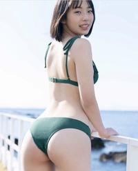 この方の名前わかりますか? - 菊地姫奈この雑誌グラビアで同じ水着を着て... - Yahoo!知恵袋