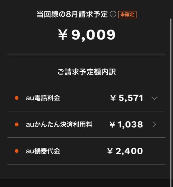 auの料金が高くて困ってます。毎月20ギガ使ってます。安くすることは難しいですか?