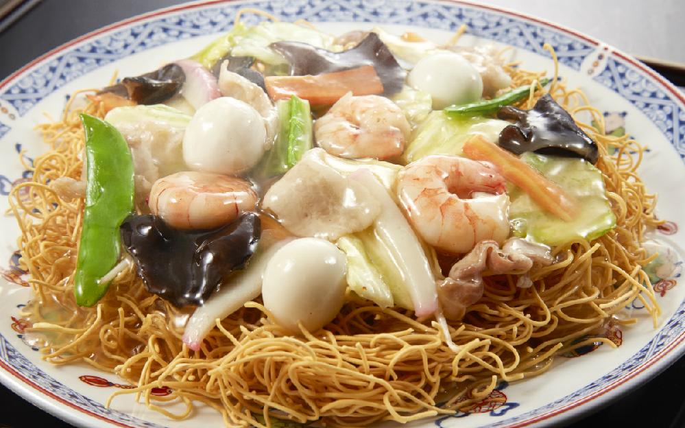 長崎名物「皿うどん」は好きですか? (^。^)b