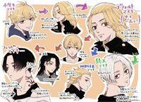 東京リベンジャーズのマイキーの髪型でどれが一番すきですか? 自分はフィリピンマイキー(短髪.黒髪.センター分け)が好きです!