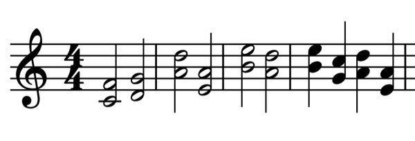 コイン100枚 バイオリンの重音について バイオリンの4度の重音について 例えばこの楽譜のような(テンポは四分音符100)ものは無理がありますか? いろんな方に答えていただきたいです。 弦楽四重奏のセカンドバイオリンに弾かせたいと思っています。 できればポルタメントのようにしたいのでどこを繋げたら良いのかも教えてください!
