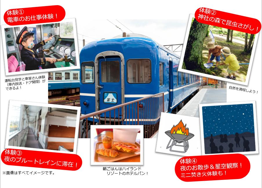 限定7組【8/14-15】『ブルトレサマーキャンプ』(下吉田駅ブルートレインテラス夜間特別開放イベント)参加者多いと思いますか? ブルートレインテラスは宿泊施設ではありません。枕、毛布などの寝具...