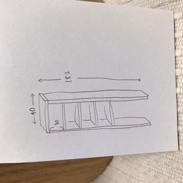 DIY初心者の女です 欲しい寸法の棚がないため自分で作ろうと思っています。自作は初めてです。 ・高さ 182cm ・ 幅 40cm ・奥行 23cm ①15mmのラワン合板を使う予定ですが、 この厚みでは薄すぎますか? 置くものはトイレットペーパーや洗剤のストックなどでそこまで重みのあるものは置きません。 あと底板はできれば付けたくないです。 背板に3ミリ〜5ミリくらいのベニヤ板をくっつけようかと思っています。 中の板は可動できるようにくっつけず乗せるだけにしたいです。 天板は四隅ビス留めします。 ②これでは前側が開いてしまいますか? 15mmだとビスを入れた時割れるかな?など色々考えますが、周りにわかる人がいない為詳しい方にアドバイスなど頂きたいです。 よろしくお願いします。