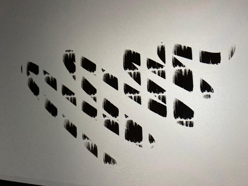 プロクリエイトについて質問です。 新しいブラシを作成しようとしたところ、線が途切れてスタンプの様な線になってしまうのですが、普通のブラシのようにストロークを続けて描くにはどの設定を見たらいいでし...