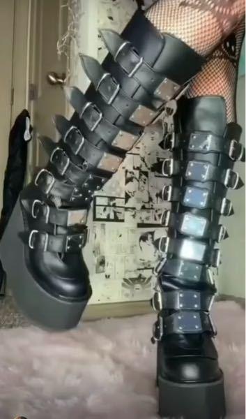海外で流行っている?このロングブーツはどこでなんと調べれば手に入りますか?