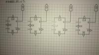 デジタル回路の問題について教えて下さい。 jk-ffを用いて非同期式10進アップカウンタを設計せよ    サイトがあるればそれでもいいので教えて下さい。